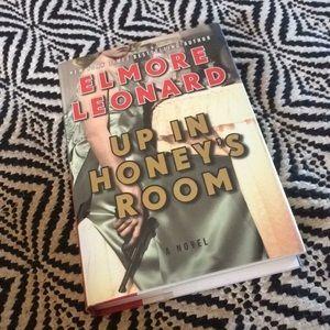 """SIGNED Elmore Leonard novel """"Up in Honey's Room"""""""